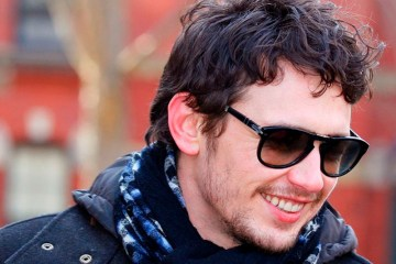 James Franco from Wikimedia, Creative Commons licensed