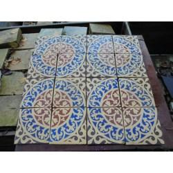 Small Crop Of Mosaic Floor Tile
