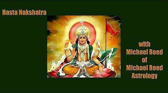 Interpreting the Nakshatras Series - Hasta Nakshatra 13 of 27