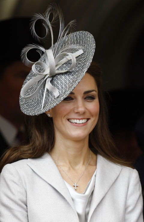 Catherine at the annual Garter Service in June 2011. Source: Getty Images.