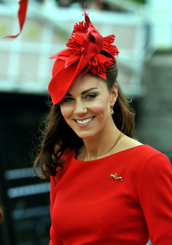 Catherine attending the Queen's River Pageant in 2012. Source: DAVID CRUMP AFP Getty Images.