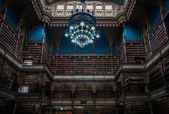 Biblioteca Real Gabinete Português de Leitura ~ Rio de Janeiro, Brazil. Image Source: Flickr user BORIS G