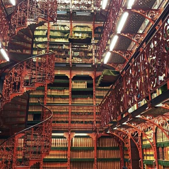 The Handelingenkamer Library ~ The Hague, Netherlands. Image Source:  Instagram User robertzuidbroek