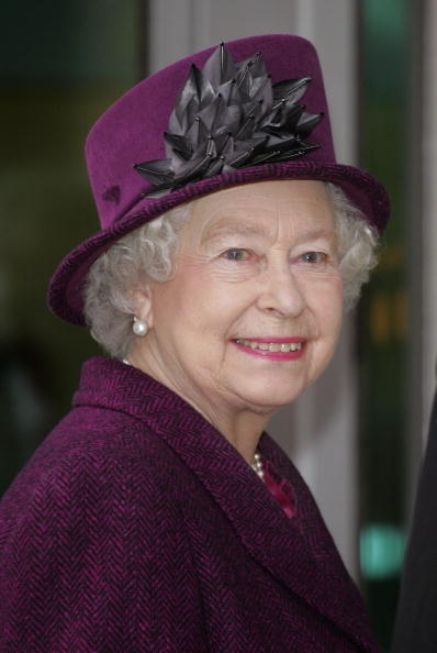 Queen Elizabeth leaves Moorfields Eye Hospital after the opening of a new Children's Eye Centre on February 23, 2007 in London, England. / Source: Pinterest