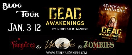 Dead Awakenings Blog Tour Banner