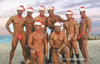 Pick-A-Santa Sexy Santa Men