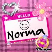hello my name is norma