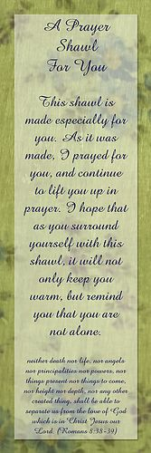 prayer shawl verse