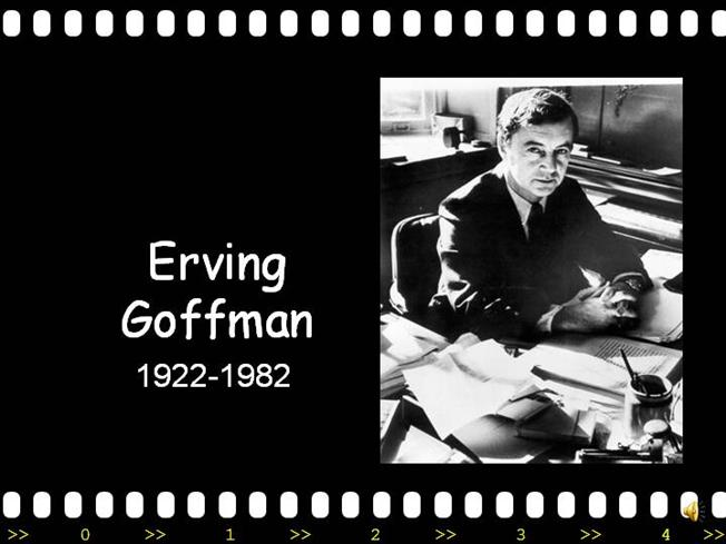 erving goffman interaction ritual essays on face-to-face behavior