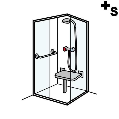 Baño General Del Paciente En Regadera:Actividades de la vida diaria del niño con autismo: La ducha