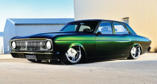 Ford XR Falcon based ZERO'D muscle car
