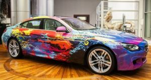 BMW 650i Gran Coupe art car