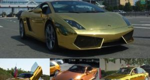 Gold plated cars