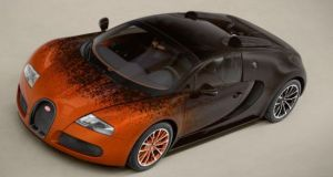 Bugatti Veyron Grand Sport Venet art car  15