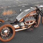Ford Flathead V8 powered trike 11