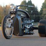 Ford Flathead V8 powered trike 2