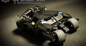 RC fully functional Lego Tumbler Batmobile 10