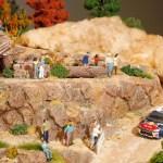 Citroen's unique Diorama on real DS3 f