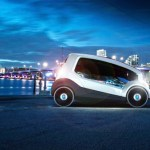 Designers imagine city electric car for Czech automaker in Skoda ONE 2