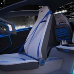 Designers imagine city electric car for Czech automaker in Skoda ONE 4