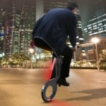 Foldable City Ass electric unicycle  5