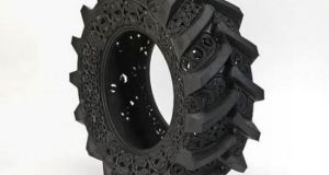 Wim Delvoye art on tires