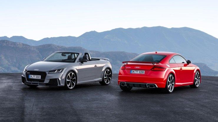 Novi TT RS Coupé i TT RS Roadster