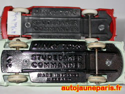 Dinky Toys chassis Studebaker