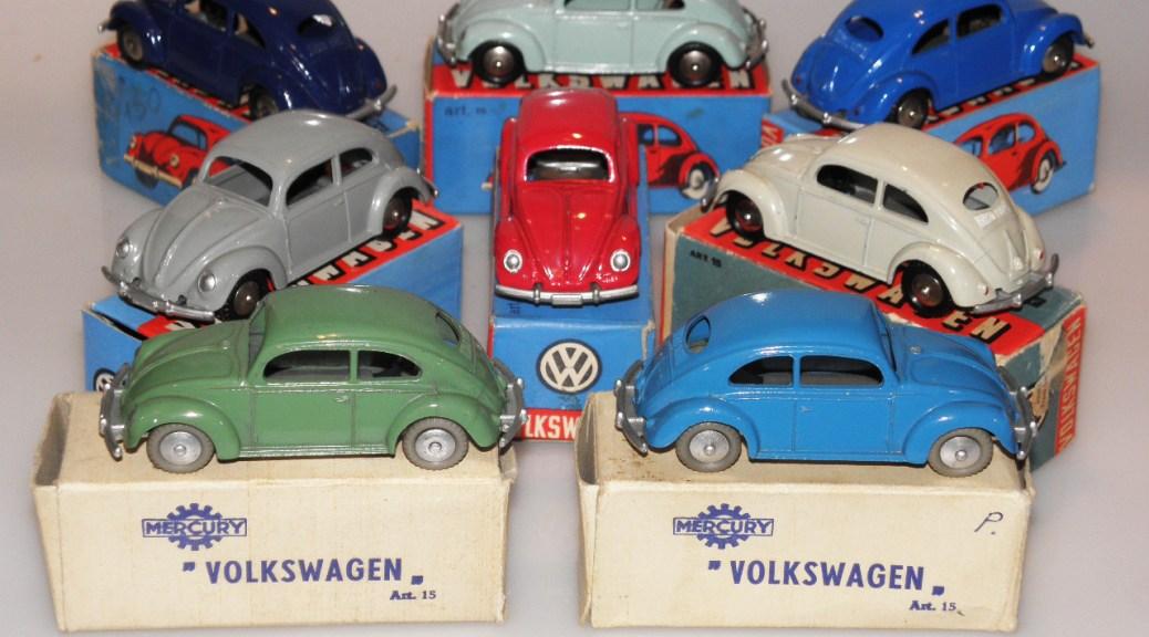 Mercury ensemble de Volkswagen 1200