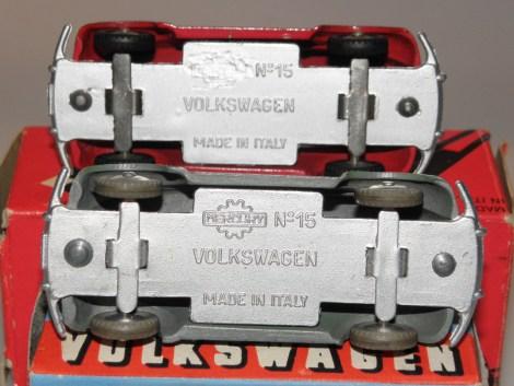 variante de chassis : italien et japonais