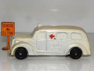 Metal Cast ambulance