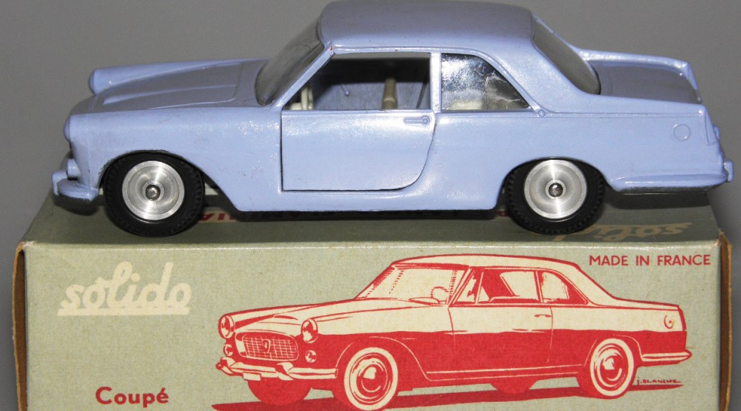 Solido Lancia Flaminia essai de couleur