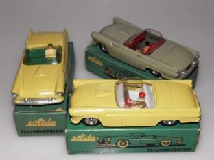 Solido Ford Thunderbird couleurs moins fréquentes