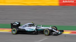 Rosberg behaalt pole in zonovergoten Spa, Verstappen op 2