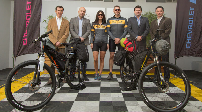 """Chevrolet apoya el proyecto """"Pedal Sur"""""""