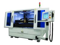 IPG's LaserCube: a highly efficient laser cutting system with a compact footprint and low operating costs. Available in the UK & Ireland from TLM Laser