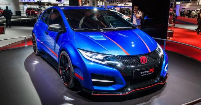 2016 Civic Type-R hatchback