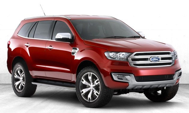 New Ford Everest 2014 Siap Menerkam Fortuner Dan Pajero Sport!