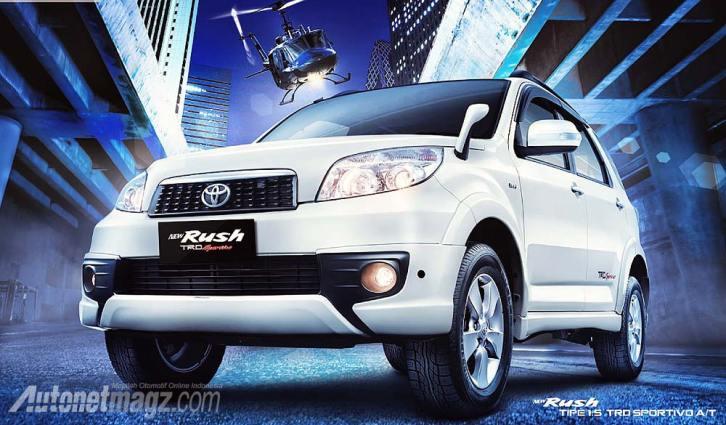 IIMS 2013, Toyota New Rush TRD Sportivo 2013: Toyota Rush Facelift Baru Akhirnya Diluncurkan Juga