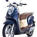 Honda, Scoopy Biru STYLISH: Warna Baru Honda Scoopy Biru : Urban Blue dan Uptown Blue