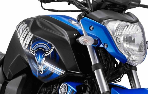 Yamaha Byson New Striping