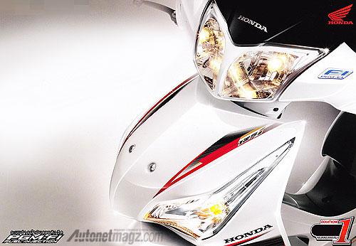 Berita, Honda Supra X Injeksi: Honda Supra X 125 Kena Sentuhan
