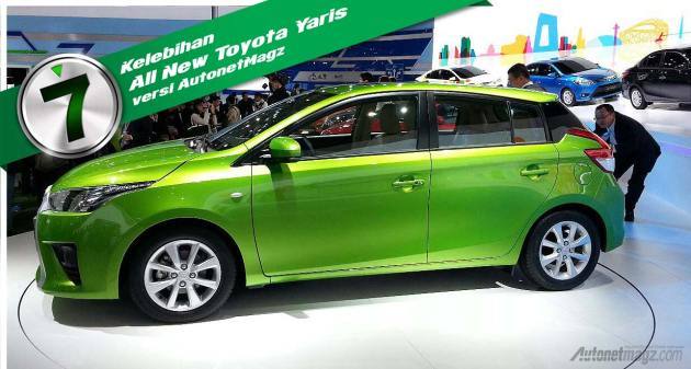 Keunggulan All New Toyota Yaris 2014