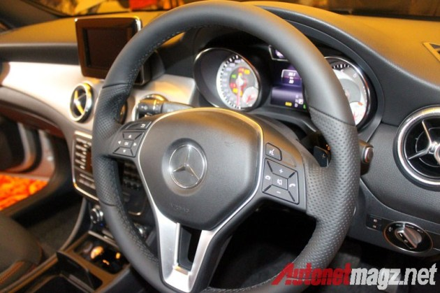 Mercedes CLA Steering Wheel