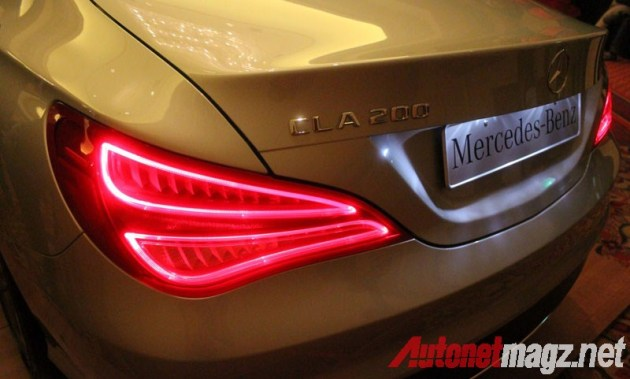 Mercedes CLA Taillight