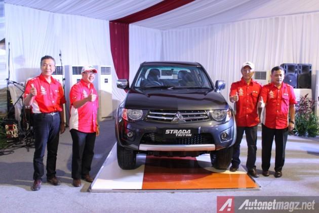 Mitsubishi Strada Triton VGT launch