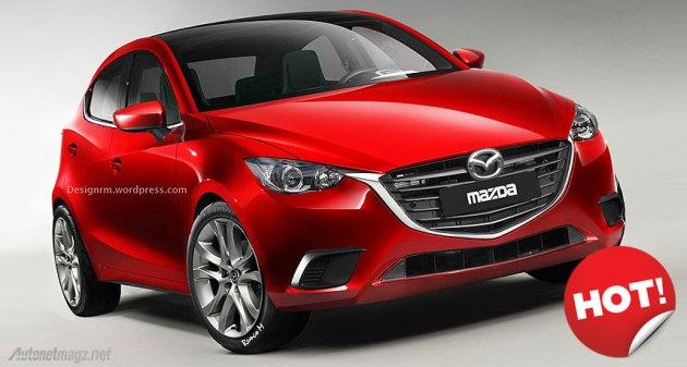 2015 Mazda2 design