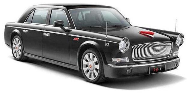 FAW Red Flag mobil limousine Roll Royce ala Cina