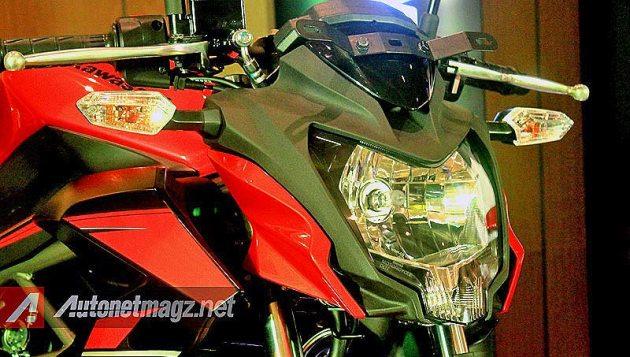 Lampu depan Kawasaki Z250 SL Indonesia