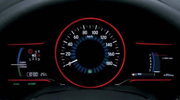 Honda-HRV-Speedometer